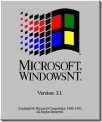 1993.7.27 Windows NT 3.1