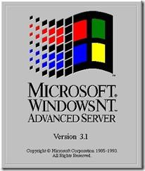 1993.7.27 Windows NT 3.1 AdvancedServer